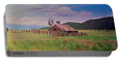 Portable Battery Charger featuring the photograph Westcliff Colorado by Patricia Greer
