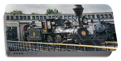 Western And Atlantic 4-4-0 Steam Locomotive Portable Battery Charger by John Black