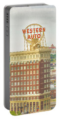 Western Auto Portable Battery Charger