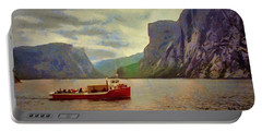 Western Brook Pond Portable Battery Charger by Jeff Kolker
