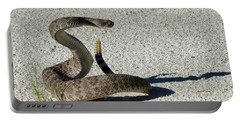 Western Diamondback Rattlesnake Portable Battery Charger by Skeeze
