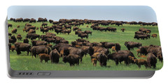 Western Kansas Buffalo Herd Portable Battery Charger