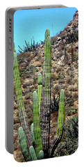 Western Mexican Cactus Tree Portable Battery Charger