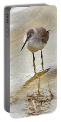 Portable Battery Charger featuring the photograph Western Sandpiper by Rosalie Scanlon