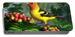 Western Tanager Portable Battery Charger