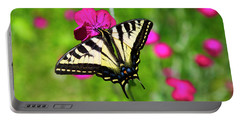Western Tiger Swallowtail Butterfly Portable Battery Charger