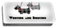 Westies Are Besties Portable Battery Charger