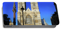 Westminster Abbey London England Portable Battery Charger