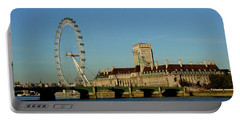Westminster Bridge And London Eye Portable Battery Charger