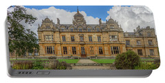 Portable Battery Charger featuring the photograph Westonbirt School For Girls by Clare Bambers