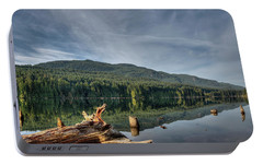 Portable Battery Charger featuring the photograph Westwood Lake by Randy Hall