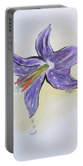 Wet Flower Portable Battery Charger