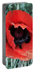 Wet Poppy Portable Battery Charger