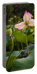 Wetland Flowers Portable Battery Charger