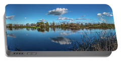 Wetlands Panorama  Portable Battery Charger