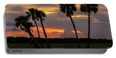 Wetlands Sunset Portable Battery Charger
