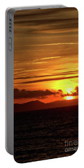 Portable Battery Charger featuring the photograph Weymouth Sunrise by Baggieoldboy