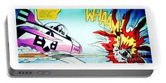 Whaam - Roy Lichtenstein  Portable Battery Charger