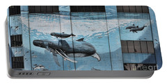 Whale Deco Building  Portable Battery Charger