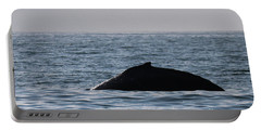 Portable Battery Charger featuring the photograph Whale Fin by Suzanne Luft