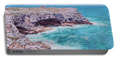 Whale Point Cliffs Portable Battery Charger