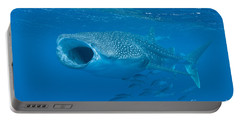 Whale Shark, Ari And Male Atoll Portable Battery Charger