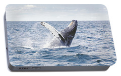 Whale Tail Portable Battery Charger by Happy Home Artistry