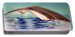 Whale Tail    Pastel   Sold Portable Battery Charger