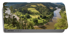Portable Battery Charger featuring the photograph Whanganui River Bend by Gary Eason