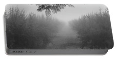 Portable Battery Charger featuring the photograph What A Foggy Morning 02 by Arik Baltinester