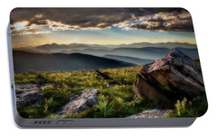Portable Battery Charger featuring the photograph What Dreams May Come - Square by Chris Bordeleau