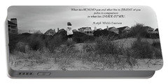 Portable Battery Charger featuring the photograph What Lies Inside Of You Quote by Ellen O'Reilly