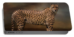 What You Imagine - Cheetah Art Portable Battery Charger