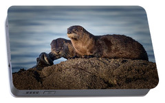 Portable Battery Charger featuring the photograph Whats For Dinner by Randy Hall