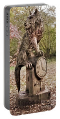 Whats The Time Mr Wolf Portable Battery Charger by John Williams