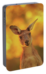 Portable Battery Charger featuring the photograph What's Up, Yanchep National Park by Dave Catley
