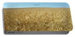 Wheat Field Harvest Season Portable Battery Charger
