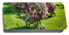 2004 - Wheel Barrow Full Of Flowers Portable Battery Charger