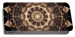 Wheel Of Life Mandala Portable Battery Charger