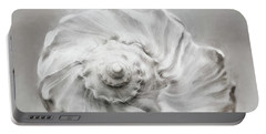 Portable Battery Charger featuring the photograph Whelk In Black And White by Benanne Stiens