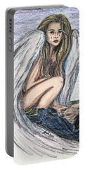 When Angels Cry Portable Battery Charger
