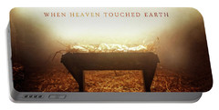 When Heaven Touched Earth Portable Battery Charger