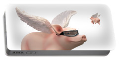When Pigs Fly Portable Battery Charger