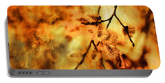 Portable Battery Charger featuring the digital art When Spring Awakens by Fine Art By Andrew David