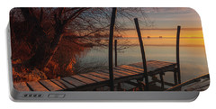 When The Light Touches The Shore Portable Battery Charger