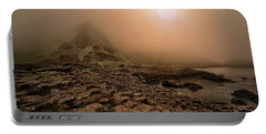 Sunset At Giant's Causeway Portable Battery Charger