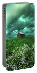 When The Thunder Rolls Portable Battery Charger by Phil Koch