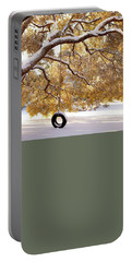 Portable Battery Charger featuring the photograph When Winter Blooms by Karen Wiles