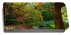 Where Autumn Lingers  Portable Battery Charger