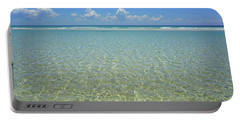 Where Crystal Clear Ocean Waters Meet The Sky Portable Battery Charger